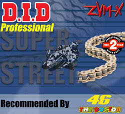 Did Gold X-ring Drive Chain 530 P - 114 L For Triumph Motorcycles