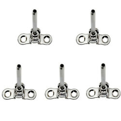 Turnbuckle Cable Railing 5 Pc 1/8and039and039 Ss 316 Deck Toggle Swage Stud Marine