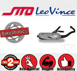 Sito Complete Exhaust System For Suzuki Scooters