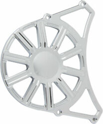 Arlen Ness - P-1165 - Front Drive Pulley Cover, 10-gauge - Chrome