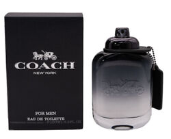 Coach New York By Coach 3.3 / 3.4 Oz Edt Cologne For Men Brand New In Box