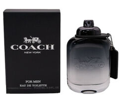 Coach by Coach 3.3 3.4 oz EDT Cologne for Men Brand New In Box $35.55