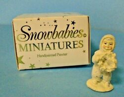 Department 56 Dept Snowbabies 7628-7 I Made This Just For You Miniature Pewter