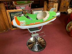Rocket Carnival Ride Child's Barber Chair Watch Video