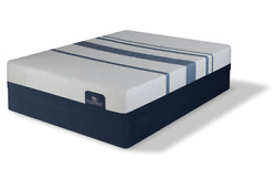Split King Serta Icomfort Blue 300 Firm Mattress With Motion Slim Adjustable Bed