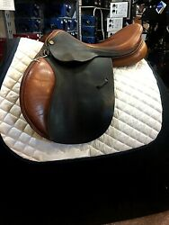 USED Michael Whitaker Close Contact Saddle - 17