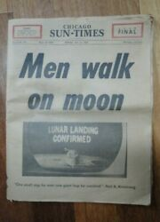 RARE Complete Chicago Sun-Times July 211969