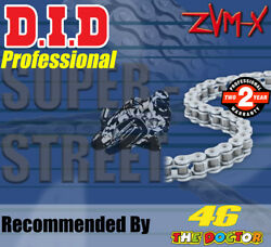 Did Silver X-ring Drive Chain 530 P - 106 L For Honda Vtr