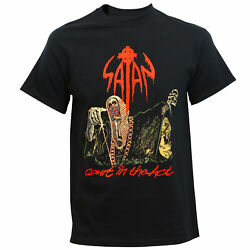 Authentic Satan Band Court In The Act Logo Metal T-shirt S M L Xl 2xl New