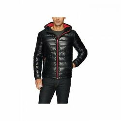 Cole Haan Mens Faux Leather Jacket Size XL REF:3603^