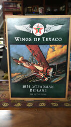 Wings Of Texaco Collection Sets 1-4 And 6 Airplane Bank Diecast
