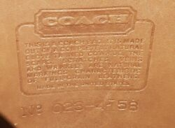 Coach Vintage Leather Hobo Crossbody Tan from the 1970quot;s $52.00