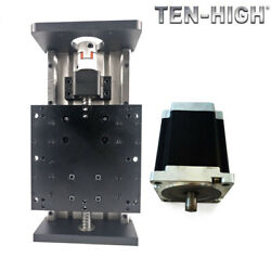 Ten-high Ball Screw Heavy-duty Double Linear Guide Module With 86 Stepper Motor