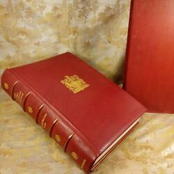 The Royal Philatelic Collection By Sir John Wilson Deluxe Leather Bound