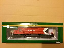 Bowser Ho 1/87 Scale Cp Rail Gmd Sd40-2 Dcc And Sound Road 5718 F/s 24152 New