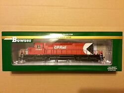 Bowser Ho 1/87 Scale Cp Rail Gmd Sd40-2 Dcc And Sound Road 5568 F/s 24139 New
