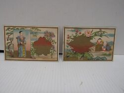 2 Chinese E J Snow Real Estate Brooklyn, Ny Victorian Trade Cards 1879