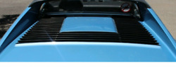 Ferrari 308 Gts Rear Engine Deck Lid Grille U Shaped Grille Sytle Used