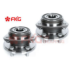 2front Wheel Bearings Hub Assembly For Jeep Grand Cherokee Wrangler 4wd 513084
