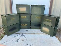 10 Pack | 50Cal Ammo Cans | Empty | 12