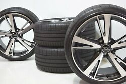 19 Audi Rs3 Factory Oem Genuine Bbs Wheels Rims 19 Tires S3 Staggered 2018 2019