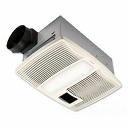 Broan-nutone Qtx110hflt 110 Cfm Ventilation Fan With Heater And Light