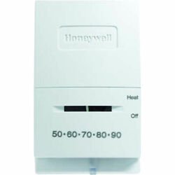 Honeywell T827k1009 Heat Only Thermostat For Single Stage Low Voltage Systems