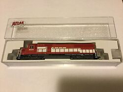 Atlas 1/160 N Scale Sd-60 Soo Line Rd 6044 Locomotive Nce For Dcc 40002067 F/s