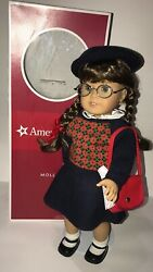 American Girl Molly Historical 18in Doll With Accessories And Box Retired