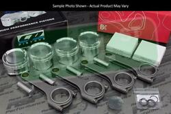 Cp X-style Pistons Brian Crower 625+ H Beam Rods Vtec B18a B18b 81mm 12.51