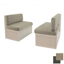 Recpro 40 Rv Oatmeal Cloth Dinette Booth Memory Foam Cushions Rv Furniture