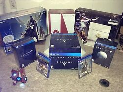 The Complete Ps4 Destiny Collection Including Titan Figurine. All Brand New