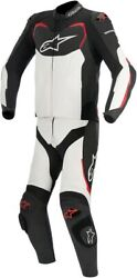 Alpinestars Gp Pro Two Piece Leather Suit 52 Black/white/red 3165016-123-52