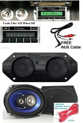 1967-1968 Cadillac Radio + Stereo Dash Replacement Speaker + 6x9and039s 630