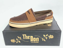 New In Box Globe The Don Earth / Antique Skateboard Skate Shoes Vintage Retro