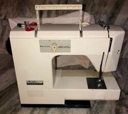 White 1510 Deluxe Sewing Machine Precision Built Zigzag Tested Rare Ships N 24hr