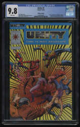 Unity #1 CGC 9.8 White Pages Platinum Edition Valiant