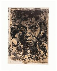 Vhils - Amorphous Limited Edition Not Kaws Obey Banksy