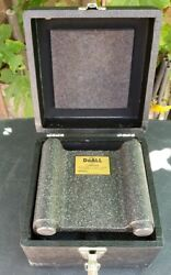 Doall Black Granite Surface For Block/base For A Height Gage