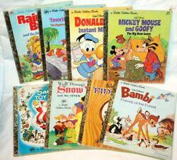 Lot Of 26 Bookswalt Disney A Little Golden Book Pooh Lady Muppets Tootle Frosty