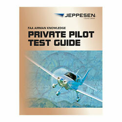 New Jeppesen Private Pilot Faa Airmen Knowledge Test Guide   10001387-024