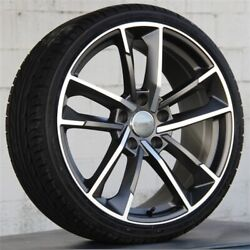 4set 20 20x9 5x112 Wheels And Tires Pkg Rs Style Audi S5 A5 A6 Q5 Rs4 Sq5 Rotor