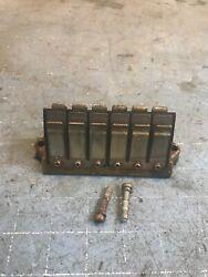 Ip1939 Suzuki Dt 225hp 1991 Reed Block Assy And Screws 13150-92e30 Outboard Mtr