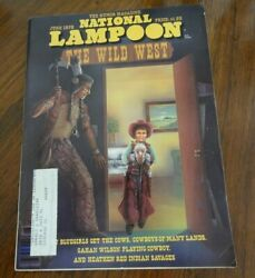 One lot of 200 different old National Lampoon magazines