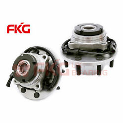 2 New Front Drw Wheel Hub Bearing For Course Thread After 3/22/99 W/abs 515057