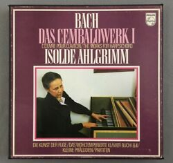 F970 Bach The Works for Harpsichord I Ahlgrimm 10LP Philips 6747 053 Stereo