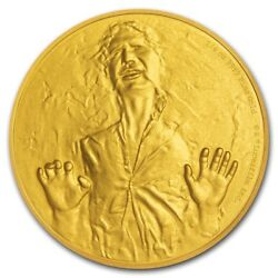 Star Wars 25 Proof 1/4 Oz Gold Coin 2016 Han Solo Classic Niue With Coa And Ogb