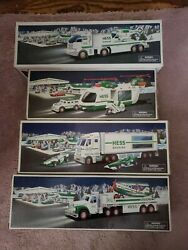 Lot Of Hess 2001 2002 2003 2006 Toy Vehicles Vintage Collection