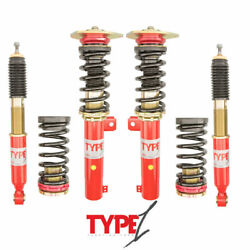 For 02-08 Audi A4 B6 B7 Function And Form Type 1 Coilovers Height Adjustable Kit