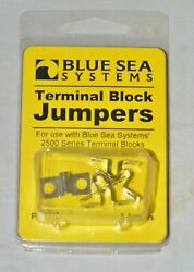 Blue Sea Systems 9217 Tin Plated Brass Terminal Block Jumpers Pack Of 5